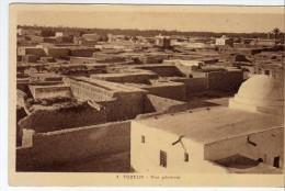 2040. Postal TOZEUR (tunez) , Vista General Tunez - Túnez
