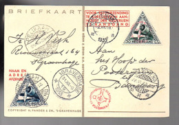 1933 Pelikaan H. Verk Roiuwstraat 164 's-Gravenhagen > Bandoeng (ni297) - Nederlands-Indië