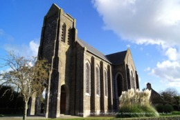 Barneville-Carterêt (50)- Eglise Saint-Germain-le-Scot (Edition à Tirage Limité) - Barneville