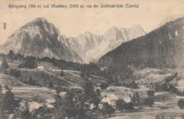 AK - Italien - Slowenien - Blick Von D. Schlitzabrücke(Tarvis) Nach Königsberg - Italy