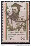 India  Used 1984, Vasudeo Balvant Phadke.    (image Sample) - Oblitérés