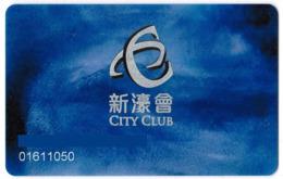 MACAO KEY CASINO City Club - Casino Cards