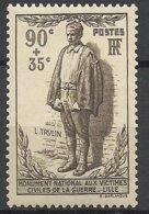 France N°   420 Monument Aux Victimes De La  1ère Guerre Mondiale  Neuf * *   TB= - MNH VF  Soldé à  Moins De 15 % ! ! ! - Guerre Mondiale (Première)