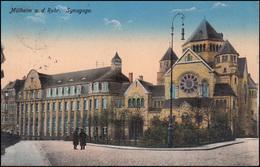 Ansichtskarte Mülheim An Der Ruhr - Synagoge, 8.9.1915  - Judaika, Judentum