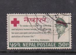 Nepal Scott 196 1966 Red Cross,Used - Nepal