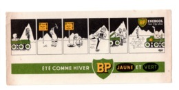 Buvard Publicitaire Huile BP - Automotive