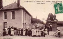 DROUE - Environs D'EPERNON - Atelier De Couture - Maison Deforge, Animée - Unclassified