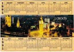 Calendrier- Carte Postale 1995 (17 Cm / 12 Cm) - Non Classés