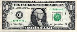 Billet 1 Dollar One Etats-Unis  Série 2003-3-C -Washingtone 1789 USA - - United States Of America