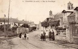 TRAPPES - Rue Du Port Royal, Animée - Trappes