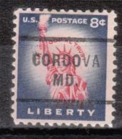 USA Precancel Vorausentwertung Preo, Locals Maryland, Cordova 712 - Vereinigte Staaten