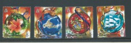Pitcairn Islands 2005 Christmas Ornaments Set Of 4 MNH - Stamps