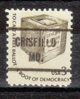 USA Precancel Vorausentwertung Preo, Locals Maryland, Crisfield 721 - Vereinigte Staaten