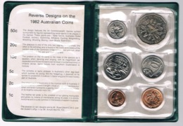 Australia • 1982 • Uncirculated Coin Set - XII Commonwealth Games Brisbane 1982 - Sets Sin Usar &  Sets De Prueba