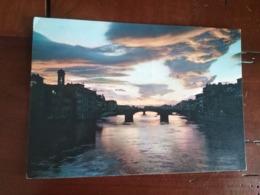 Florence - Coucher De Soleil Sur L'Arno - Firenze