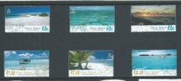 Pitcairn Islands 2005 Ducie & Oeno Island Views Set 6 MNH - Stamps