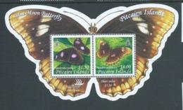 Pitcairn Islands 2005 Blue Moon Butterfly Miniature Sheet MNH - Stamps