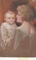 Cartolina  - Postcard /   Viaggiata - Sent /  Donna Con Bambino. - Women