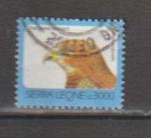 Sierra Leone. 1992. Buse D'Afrique; Red-necked Buzzard . Oblitéré. Postally Used; - Aigles & Rapaces Diurnes