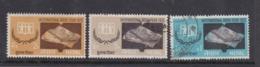 Nepal Scott 258-260 1972 International Book Year,mint And Used - Nepal
