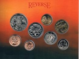 Australia • 1989 • Uncirculated Coin Set - Sets Sin Usar &  Sets De Prueba