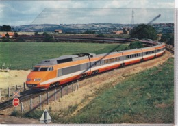 T.G.V. Paris Sud-Est ; Ligne De Chagny à Etang Et Nevers - Trains