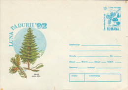 ROUMANIE - 1992 - Entier Postal Neuf - Luna Padurii' 92 -  Sapin Blanc - Entiers Postaux