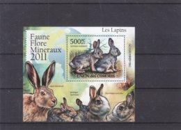 Lapins - Comores - Yvert BF 316 ** - MNH - Valeur 20 Euros - Lapins