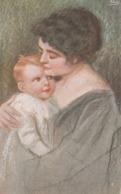 Cartolina  - Postcard /   Viaggiata - Sent /  Donna Con Neonato , Amore Materno. - Women