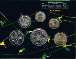 Australia • 1992 • Uncirculated Coin Set - Barcelona Olympics - Sets Sin Usar &  Sets De Prueba