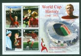 Gibraltar: 2002   World Cup Soccer, Japan  M/S  MNH - Gibilterra