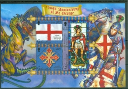 Gibraltar: 2003   1700th Death Anniv Of St George  M/S   MNH - Gibraltar