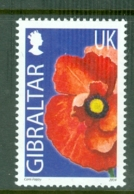 Gibraltar: 2004/06   Wild Flowers     SG1101   UK(38p)      MNH - Gibraltar