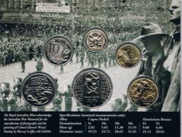 Australia • 1995 • Uncirculated Coin Set - 50th Anniversary End Of World War II - Sets Sin Usar &  Sets De Prueba