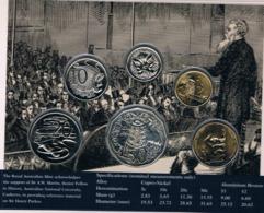 Australia • 1996 • Uncirculated Coin Set - Sir Henry Parkes - Sets Sin Usar &  Sets De Prueba