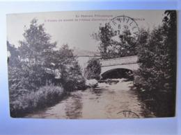 FRANCE - NIEVRE - CHÂTEAU CHINON - Vue De L'Yonne En Amont De L'Usine Electrique - 1951 - Chateau Chinon