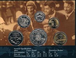 Australia • 1997 • Uncirculated Coin Set - Sir Charles Kingsford Smith - Sets Sin Usar &  Sets De Prueba