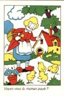 Chromo Editions Educatives Série A : Voyez-vous La Maman Poule ? - Vieux Papiers