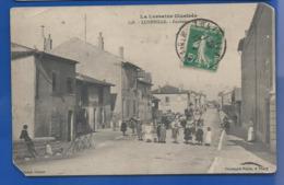 LUNEVILLE  Faubourg      Animées    écrite En 1913 - Luneville