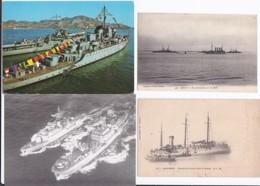 Marine De Guerre -- Lot De 44 Cartes - Guerre
