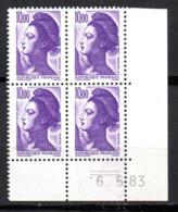 Col12   France Coin Daté  Liberté N° 2276  Du 6 05 83   Neuf XX MNH Luxe - 1980-1989
