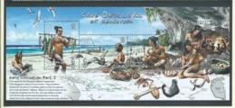 Pitcairn Islands 2006 Henderson Island Cave Dwellers Miniature Sheet MNH - Stamps