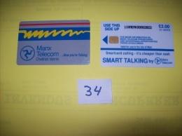 ISLE Of MAN - Smartcard Calling It's Cheaper Than Cash    -  21 Units  - Voir Photo ( 34 ) - Royaume-Uni