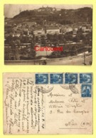 MONDOVI Piazza E Panorama 1948 ♦♦☺  ( Francobolli ) - Cuneo