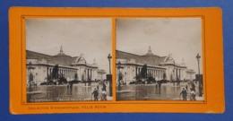 Clichés Stéréoscopiques Albuminés Sur Carton - Paris - Exposition De 1900 - Grand Palais - Stereoscopio