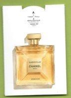 PUFFER * CHANEL* GABRIELLE   ESSENCE * - Cartes Parfumées