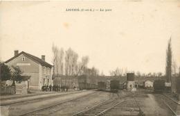 37 LIGUEIL - LA GARE - Francia
