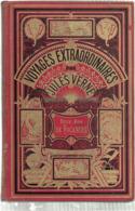 Jules Verne - Deux Ans De Vacances - Edition Originale  - Page De Garde Bleue - Pas De Pages Détachées - 1801-1900