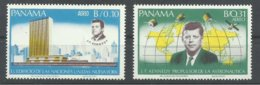 PANAMA  YVERT    AEREO   419/20    MNH  ** - Panamá