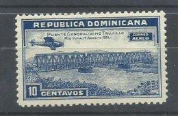 DOMINICANA YVERT  AEREO  24   MH  * - República Dominicana